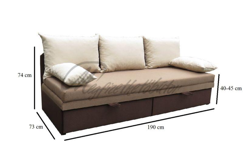 Hermina 5 párnás kanapé