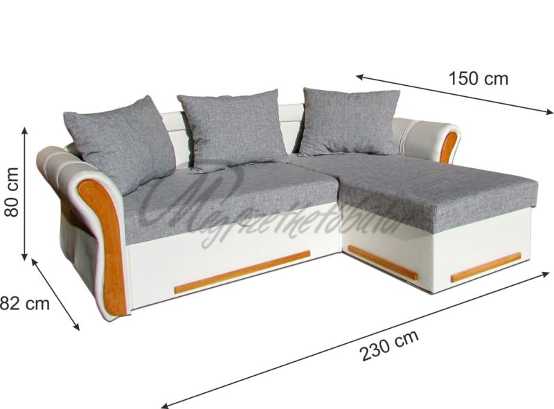 Akciós Emese sarok + 2 fotel + puff