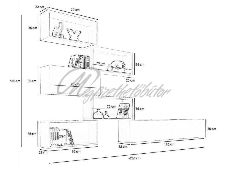 Blox VIII. szekrénysor