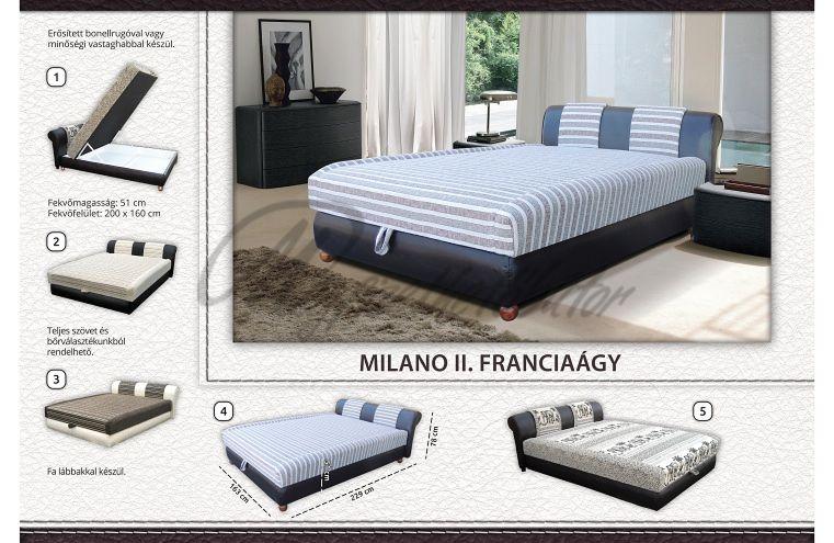 Milánó II. franciaágy