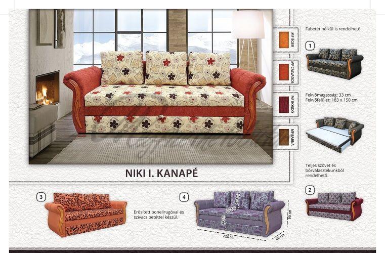 Niki I kanapé