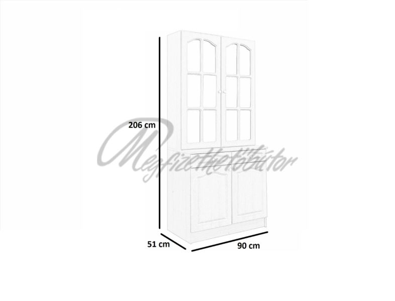 Anita 90-es Tálaló UV hosszú ajtó