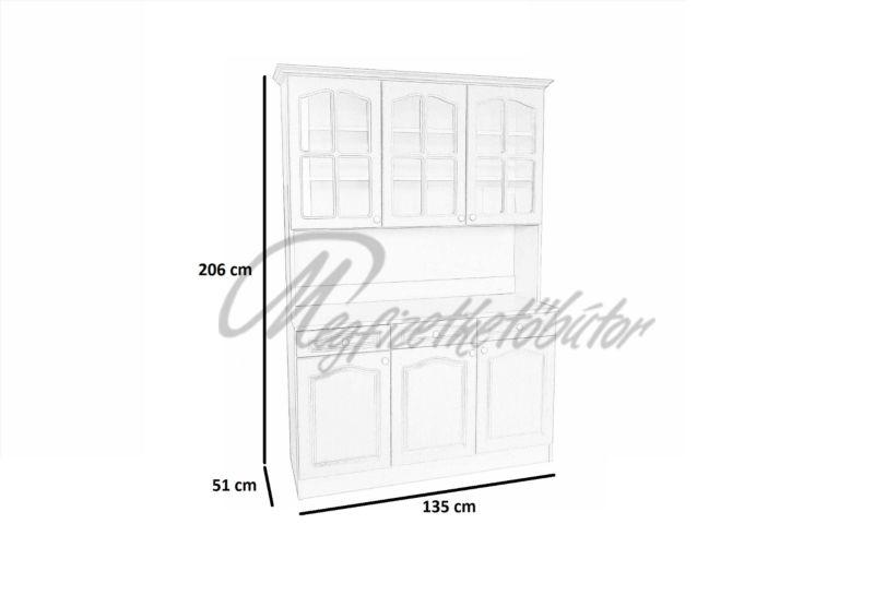 Anita 135-ös Tálaló UV rövid ajtó