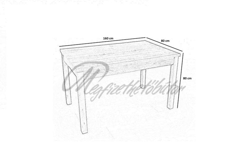 Berta asztal (6 személyes)