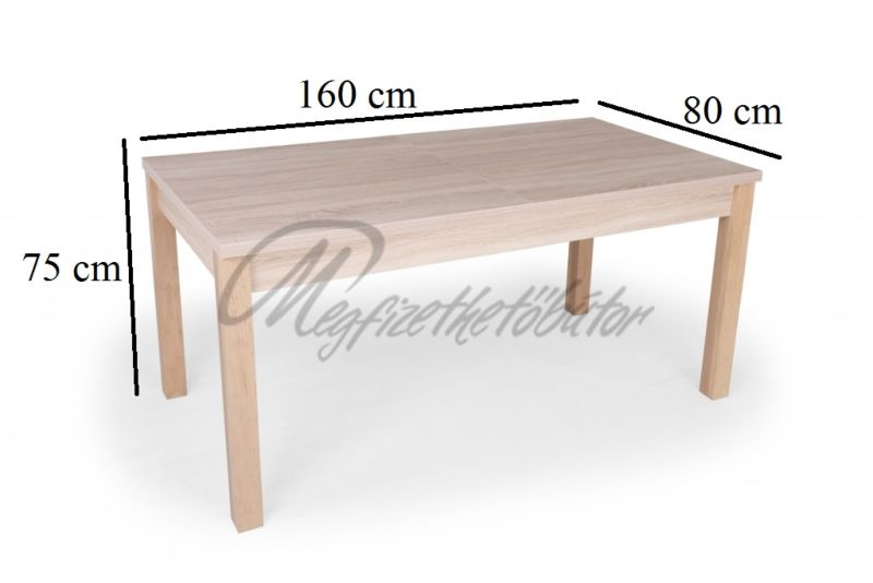 Alba étkező Berta asztallal (6 személyes)