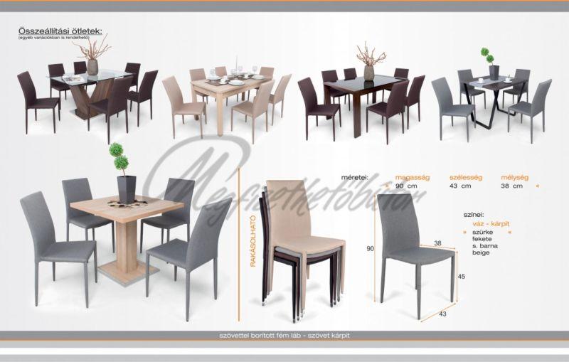 Alan étkező Cocktail asztal (4 személyes)