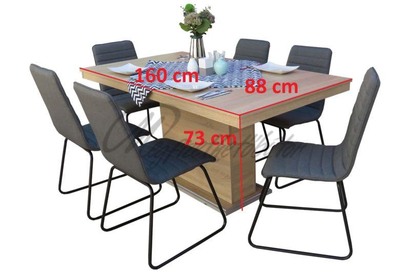 Danuta étkező Flóra asztallal (6 személyes)