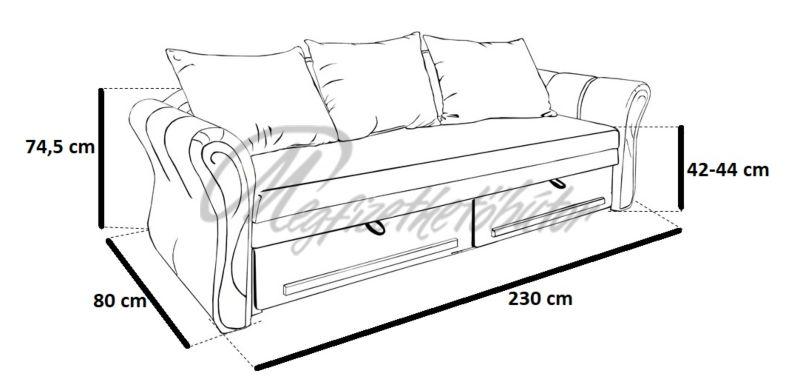 Akciós Edit hermina kanapé