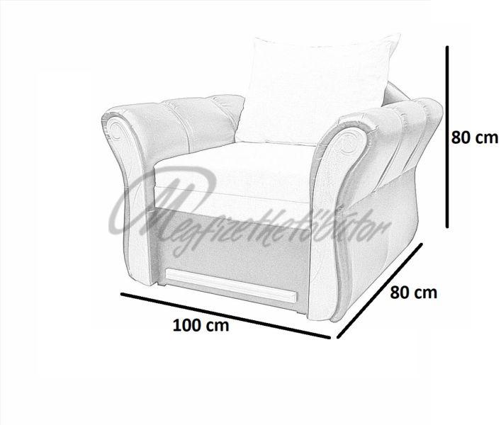 Akciós Emese fotel + puff