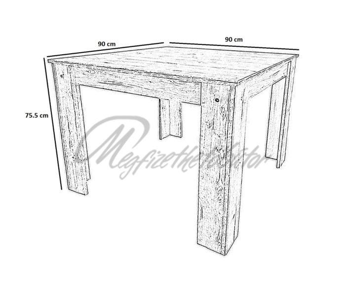 Félix asztal 90