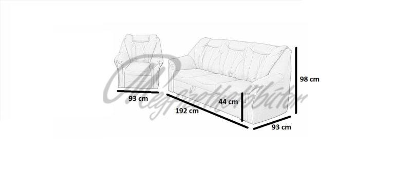 Onix ülőgarnitúra 3+1+1