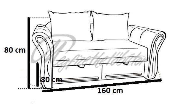 Safari 2-es kanapé