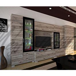 messina szekr nysor 400 cm 158 517 ft megfizethet b tor orsz gos h zhoz sz ll t s. Black Bedroom Furniture Sets. Home Design Ideas