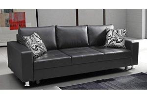 Black kanapé