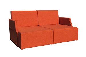 Félkaros dupla fotelágy