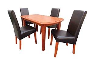 Berta étkező Dante asztallal (4 személyes)