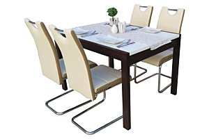Izma étkező Debóra asztallal (4 személyes)