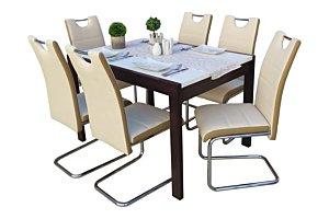 Izma étkező Debóra asztallal (6 személyes)