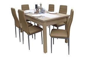 Coleta étkező Berta asztallal (6 személyes)