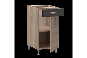 Csenge konyha 40-es alsó elem (A1A1fj40)