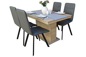 Akim étkező Flóra asztallal (4 személyes)