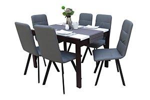 Akim étkező Debóra asztallal (6 személyes)