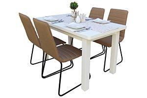 Danuta étkező Alexa asztallal (4 személyes)