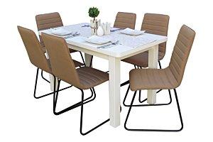 Danuta étkező Alexa asztallal (6 személyes)
