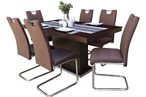 Izma étkező Flóra asztallal (6 személyes)